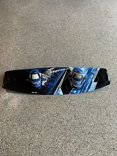 HYDROSLIDE ARSENAL HELIX 141 WAKEBOARD BLUE BLACK SILVER 4 FINS USA MADE GREAT