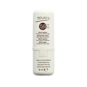 ROUGJ Stick Solare SPF50+ protezione molto alta per zone sensibili 8 ml