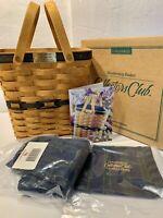 BRAND NEW Longaberger Collector's Club Membership Basket 1996 Charter Member