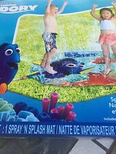 Finding Dory Water  SPRAY MAT SPLASH SPRINKLER  Summer Fun Play KIDS TOY 3+