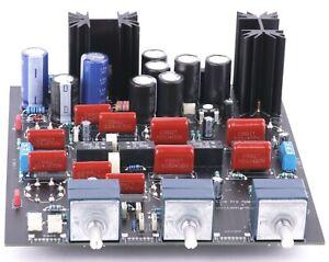 Röhren Pre Amp für die 6SN7 und 6SL7 -Tubeland Bausatz Ohne Röhren Alps Blue Pot