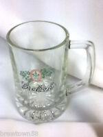 Grolsch beer glass mug beer glasses 1 Dutch brewery logo import bier glasses JM2