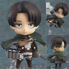 Anime Attack On Titan Nendoroid 390 Levi PVC  Figure  Model 10cm