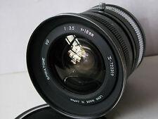 Vintage Ultra Wide FISHEYE Lens 18mm f3.5 Spiratone YS Mount - All Metal - EX++