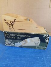Deluxe Wooden Card Shoe