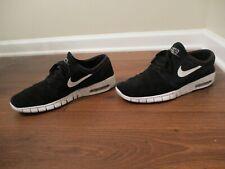 Used Worn Size 11 Nike Janoski Max Shoes Black & White