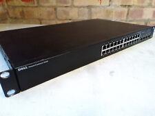 Dell PowerConnect 5424 Gigabit Switch 24 Ports + 4 SFP Combo Ports 1U Rack Mount