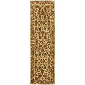 Hand-Tufted Antiquity GOLD Wool Rug 2' 3 x 10' Runner
