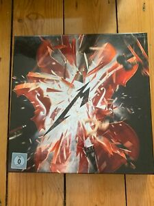 Metallica S&M2 DELUXE BOX SET - 4LP coloured vinyl, 2CD, Blu-Ray, book etc...