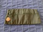 Mens US Army Green Garrison Cap Dress tropical Uniform Hat AG-344 SIZE 7 1/8