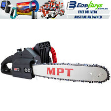 "MPT Oregon 16"" Bar Chainsaw PRO Auto Start Commercial Chain Saw Electric 2200W"