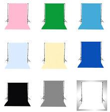 9 Type Solid Color 150x210cm 3x3m Vinyl Studio Backdrop Photography Background
