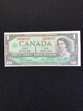 1967 Bank Of Canada 1 Dollar Bill Beattie / Rasminsky Circulated