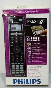 NEW Philips Prestigo Universal Programmable Remote Control w/ LCD Screen SRU6008