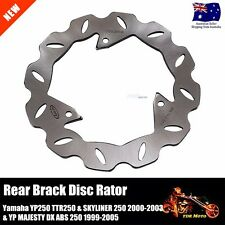 Rear Brake Disc Rotor Fit Yamaha YP250 TTR250 SKYLINER 250 YP MAJESTY DX/ABS 250