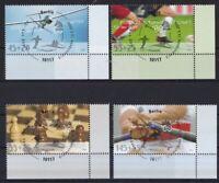 BRD 2008 gestempelt ESST MiNr. 2649-2652  Für den Sport  Sporthilfe