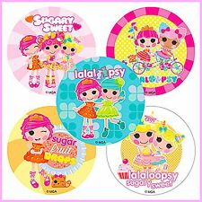 Lalaloopsy Stickers x 5 - Birthday Party - Girl's Party Favours Party Loot