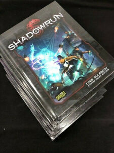 Shadowrun Core Rulebook  Hardcover 5th Edition Catalyst Game Labs 2013