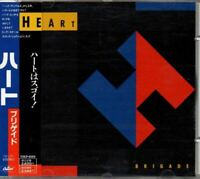 Heart ‎Brigade JAPAN CD with OBI TOCP-6129