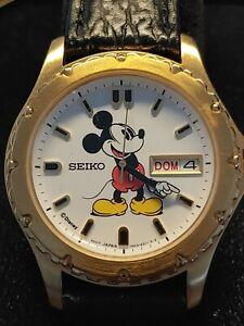 Seiko mens vintage Disney Mickey Mouse watch - NO RESERVE
