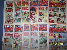 12 Dandy Comics 2001 ~ 31/3, 7, 14, 21, 28/4, 12, 19, 26/5, 2, 9, 16, 23/6/2001