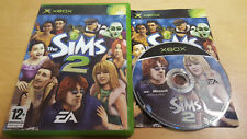 THE SIMS 2 xbox - EXCELLENT CONDITION with book