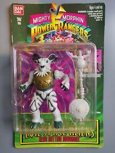 Bandai Mighty Morphin Power Rangers Evil Space Aliens Head Butting Robogoat 1994