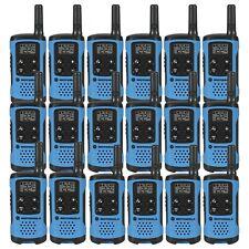 Motorola Talkabout T100TP Walkie Talkie 18 Pack Two Way Radios Blue Brand New