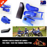 For Yamaha PW80 PY80 BLUE Plastic Fender Body Black Seat Gas Tank Kit Dirt BIKE