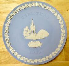 Vintage 1986 Wedgewood Christmas Plate-Estate Sale