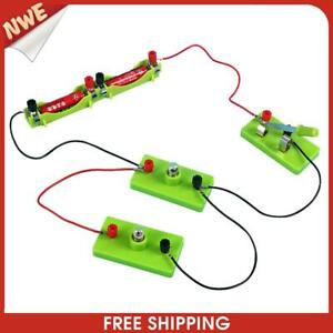 DIY Series Parallel Circuit Toys Students Kids Science Experiments Kits Toy