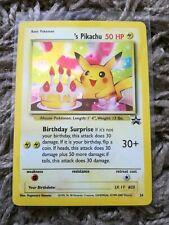 Pokemon Birthday Pikachu, #24, Black Star Rare Holo Promo Card, WOTC Card, 2000.