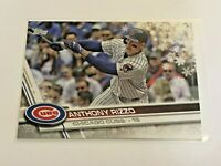 2017 Topps Walmart Holiday Baseball Base Card - Anthony Rizzo - Chicago Cubs