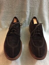 Antonio Maurizi Brown Suede  Oxford Shoes Mens 45 US 12 Made In Italy