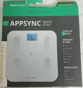 Weight Gurus Digital Body Fat Weight Scale,Accurate Health Metrics, OPEN BOX