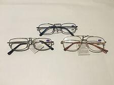 4 Pairs Adults Unisex Mens Australian Standard Metal  Reading Glasses +1.0~+4.0