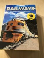 Railways The Ultimate Railroad Experience Train DVD Tape Movie Set