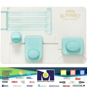 Mini Alphabet Punch Board NEW By WeR Memory Keepers 663004