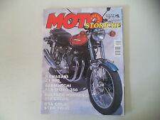 MOTO STORICHE E D'EPOCA 9/2000 BULTACO PURSANG 250/KAWASAKI Z1 900/ISO SCOOTER
