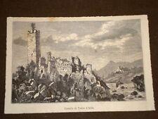 Castelli della Lombardia nel 1881 Castello di Trezzo d'Adda