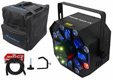 Chauvet DJ SWARM WASH FX DMX LED Light FX w/Lasers,Strobes,UV+Bag+Cable+Clamp