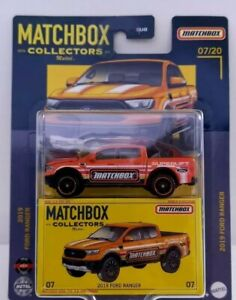 Matchbox Collectors. Ford Ranger 2019. New Sub Bister