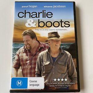 Charlie & Boots - Paul Hogan (DVD) Australia Region 4- NEW & SEALED