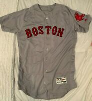 Mookie Betts 2017 Game Worn Home Run Jersey Red Sox #50 PHOTOMATCHED!!