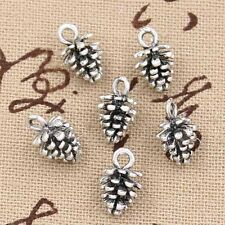 20pcs Hot Sales Pine Cone Design Pendants Charm Women Gril Jewelery Best Option