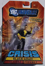 DC UNIVERSE INFINITE HEROES CRISIS. BLACK ADAM. MINI ACTION FIGURE. NEW ON CARD
