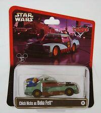 Disney Pixar Exclusive Star Wars CARS Chick Hicks as Boba Fett