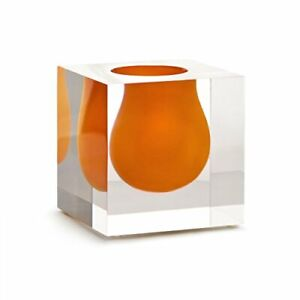 Jonathan Adler - Mini Scoop Vase - Bel Air - Orange