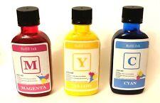 3 x 100 ml (CMY). Refill Bulk Ink for Primera Label Printer LX / RX Series.