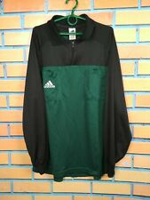 Referee Jersey LARGE Long Sleeve Shirt Football Soccer Vintage Retro Adidas